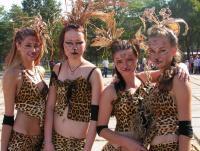 Юные леопардессы из поселка Славянка.